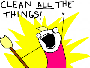 Just Clean All The Things