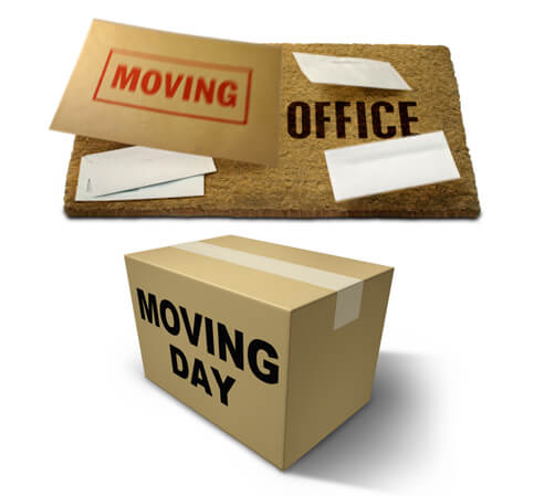 office moving boxes